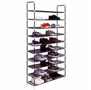 LARGE CAPACITY 10 SHELF SHOE RACK